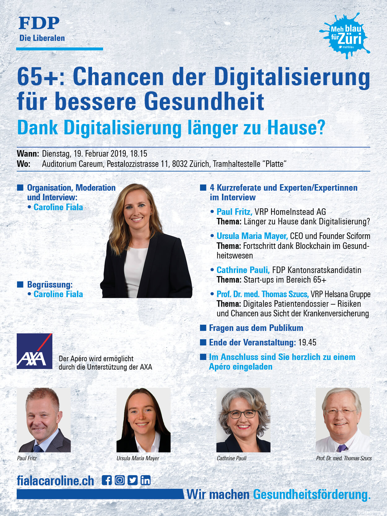 Sciform FDP Digitalisierung Digitalisation Healthcare Blockchain