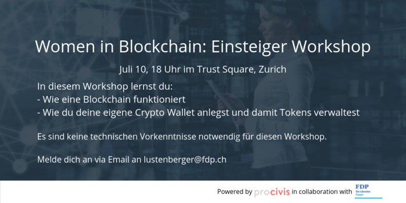 Sciform Workshop Blockchain für Einsteiger